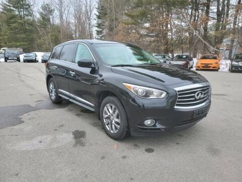2014 Infiniti QX60 for sale at Pelham Auto Group in Pelham NH