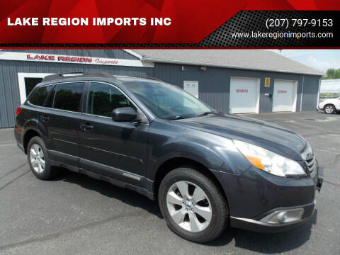 2012 Subaru Outback for sale at LAKE REGION IMPORTS INC in Westbrook ME