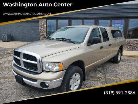 2005 Dodge Ram Pickup 1500 for sale at Washington Auto Center in Washington IA