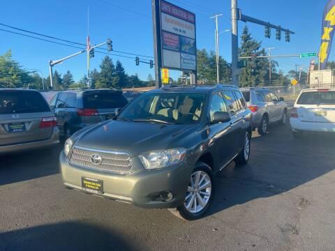 2008 Toyota Highlander Hybrid for sale at Tacoma Autos LLC in Tacoma WA