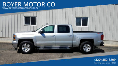 2015 Chevrolet Silverado 1500 for sale at BOYER MOTOR CO in Sauk Centre MN