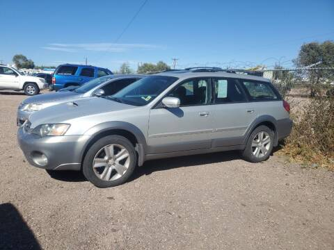 2005 Subaru Outback for sale at PYRAMID MOTORS - Fountain Lot in Fountain CO