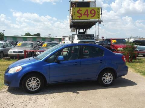2013 Suzuki SX4 for sale at USA Auto Sales in Dallas TX