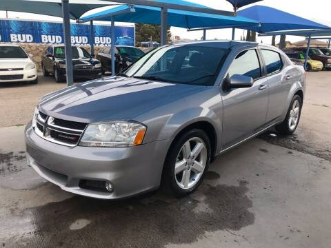 2013 Dodge Avenger for sale at Autos Montes in Socorro TX
