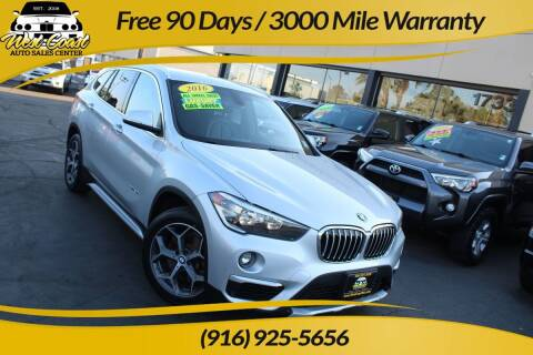 2016 BMW X1 for sale at West Coast Auto Sales Center in Sacramento CA
