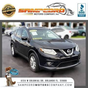 2014 Nissan Rogue for sale at SAMPEDRO MOTORS COMPANY INC in Orlando FL