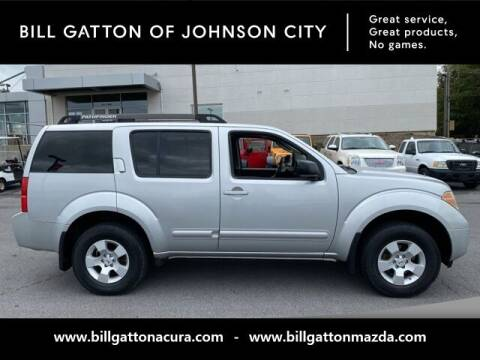 2007 Nissan Pathfinder for sale at Bill Gatton Used Cars - BILL GATTON ACURA MAZDA in Johnson City TN
