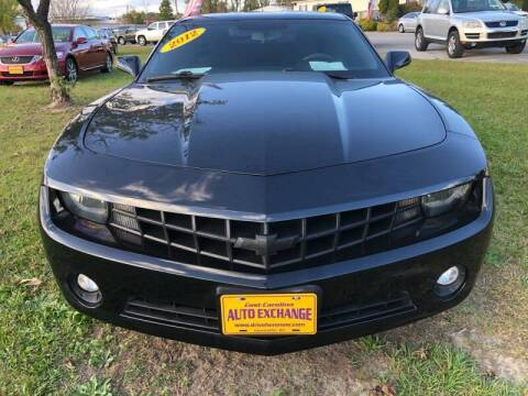 2012 Chevrolet Camaro for sale at Greenville Motor Company in Greenville NC