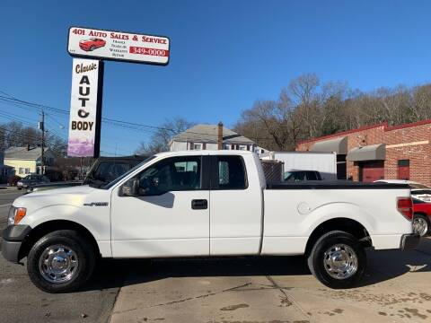 2013 Ford F-150 for sale at 401 Auto Sales & Service in Smithfield RI