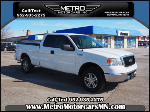 2007 Ford F-150 for sale at Metro Motorcars Inc in Hopkins MN