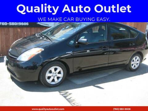 2006 Toyota Prius for sale at Quality Auto Outlet in Vista CA