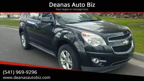 2011 Chevrolet Equinox for sale at Deanas Auto Biz in Pendleton OR