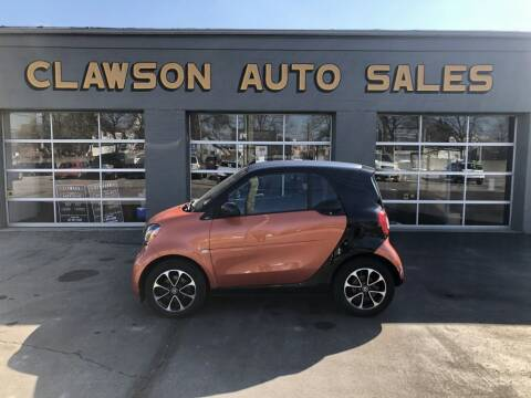 2016 Smart fortwo for sale at Clawson Auto Sales in Clawson MI