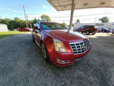 2012 Cadillac CTS for sale at McAdenville Motors in Gastonia NC