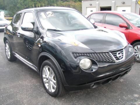 2012 Nissan JUKE for sale at Autoworks in Mishawaka IN