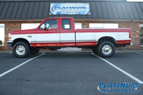 1997 Ford F-250 for sale at Platinum Auto World in Fredericksburg VA