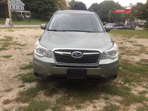 2014 Subaru Forester for sale at Sorel's Garage Inc. in Brooklyn CT