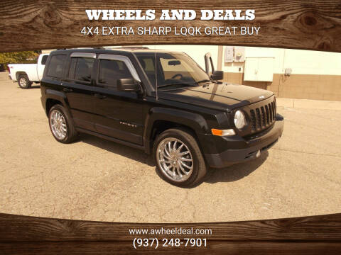2015 Jeep Patriot for sale at Wheels and Deals in New Lebanon OH