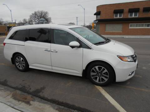 2015 Honda Odyssey for sale at Creighton Auto & Body Shop in Creighton NE