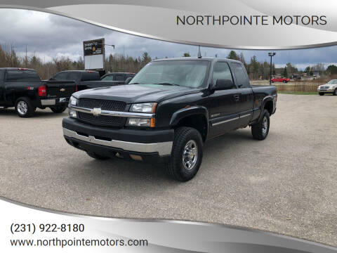 2003 Chevrolet Silverado 2500HD for sale at Northpointe Motors in Kalkaska MI