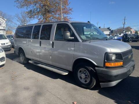 2017 Chevrolet Express Passenger for sale at EMG AUTO SALES in Avenel NJ