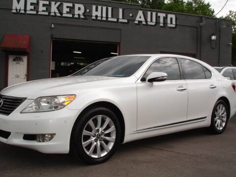 2010 Lexus LS 460 for sale at Meeker Hill Auto Sales in Germantown WI
