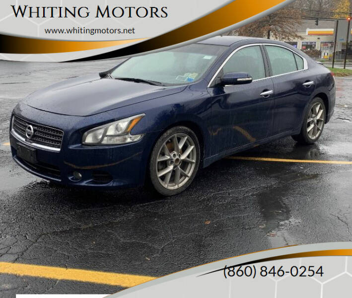 2011 Nissan Maxima for sale at Whiting Motors in Plainville CT
