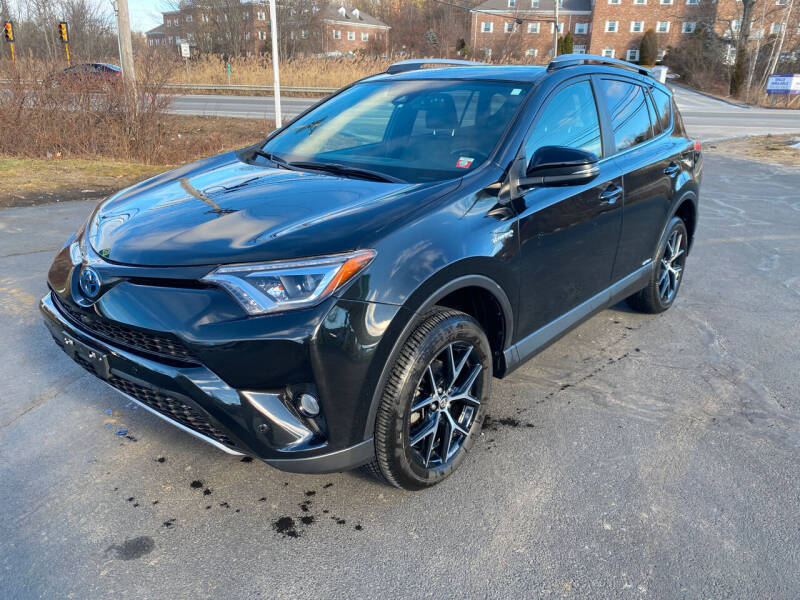2018 Toyota RAV4 Hybrid for sale at Turnpike Automotive in North Andover MA