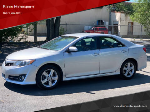 2012 Toyota Camry for sale at Klean Motorsports in Skokie IL