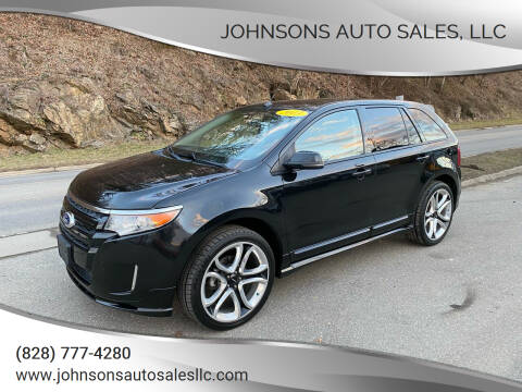 2013 Ford Edge for sale at Johnsons Auto Sales, LLC in Marshall NC