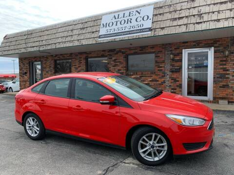 2016 Ford Focus for sale at Allen Motor Company in Eldon MO