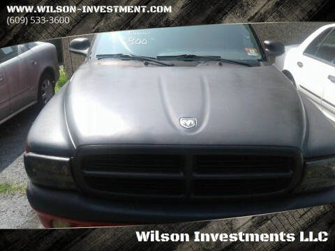 2000 Dodge Dakota for sale at Wilson Investments LLC in Ewing NJ