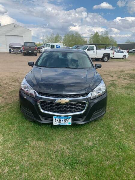 2016 Chevrolet Malibu Limited for sale at Auto Max Sales & Service in Little Falls MN