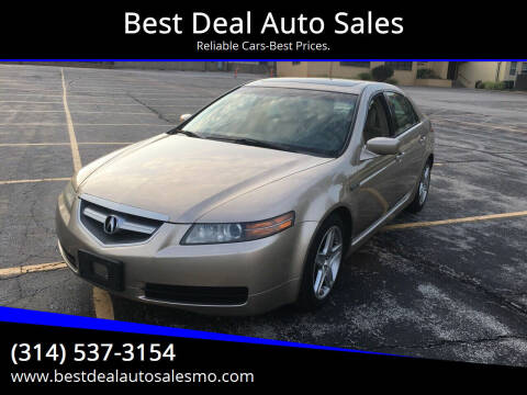 2006 Acura TL for sale at Best Deal Auto Sales in Saint Charles MO