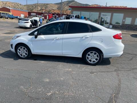2011 Ford Fiesta for sale at University Auto Sales in Cedar City UT