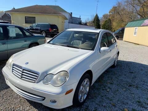 2005 Mercedes-Benz C-Class for sale at Claborn Motors, LLC. in Cambridge City IN