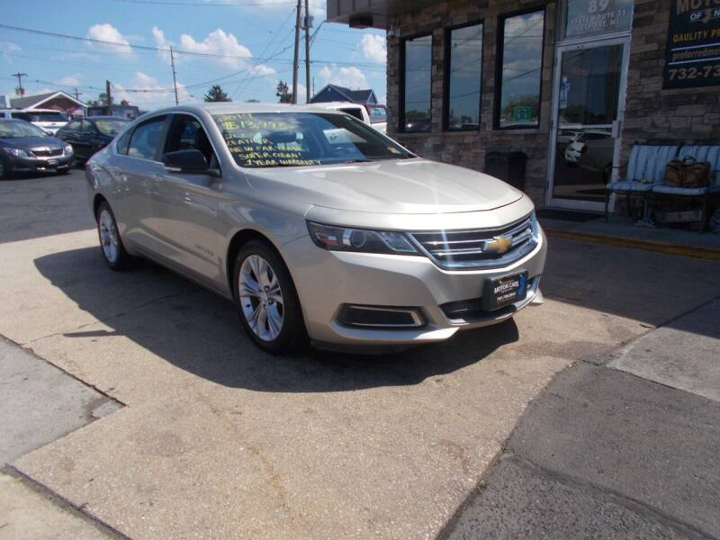 2014 Chevrolet Impala for sale at Preferred Motor Cars of New Jersey in Keyport NJ