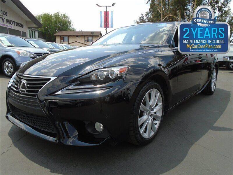 2014 Lexus IS 250 for sale at Centre City Motors in Escondido CA