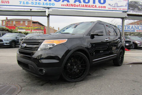 2015 Ford Explorer for sale at MIKEY AUTO INC in Hollis NY