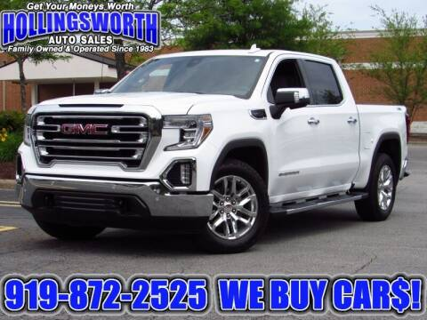 2020 GMC Sierra 1500 for sale at Hollingsworth Auto Sales in Raleigh NC