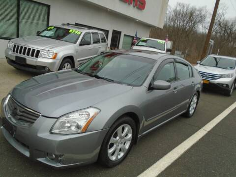 2007 Nissan Maxima for sale at Island Auto Buyers in West Babylon NY
