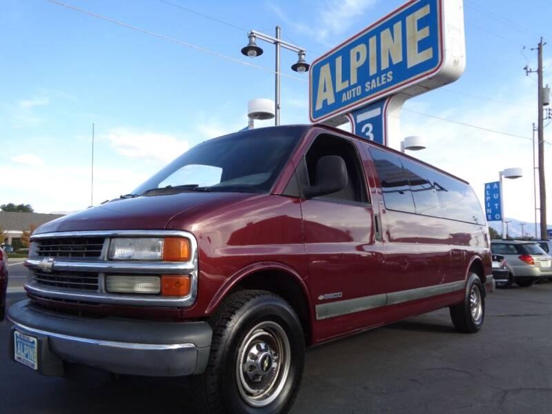 2000 Chevrolet Express Passenger for sale at Alpine Auto Sales in Salt Lake City UT