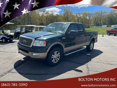 2004 Ford F-150 for sale at BOLTON MOTORS INC in Bolton CT
