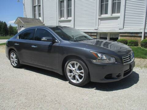 2012 Nissan Maxima for sale at Longs Automobile Emporium Inc in Atwater OH