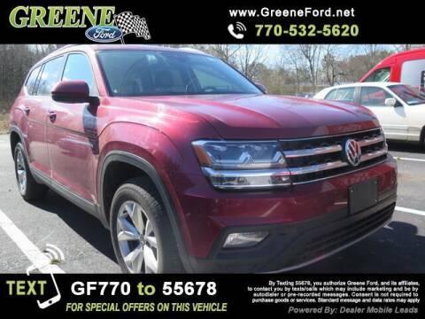 2019 Volkswagen Atlas for sale at Nerd Motive, Inc. - NMI in Atlanta GA