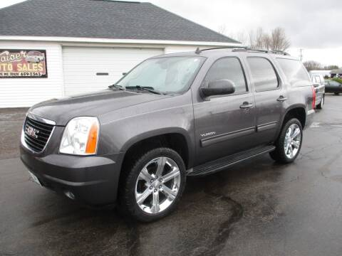 2010 GMC Yukon for sale at KAISER AUTO SALES in Spencer WI