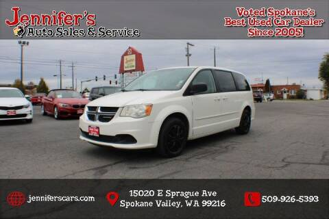 2012 Dodge Grand Caravan for sale at Jennifer's Auto Sales in Spokane Valley WA