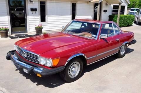 1977 Mercedes-Benz 450 SL for sale at Kell Auto Sales, Inc in Wichita Falls TX
