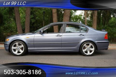 2004 BMW 3 Series for sale at LOT 99 LLC in Milwaukie OR