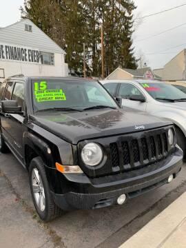 2015 Jeep Patriot for sale at Alpha Motors in Scranton PA